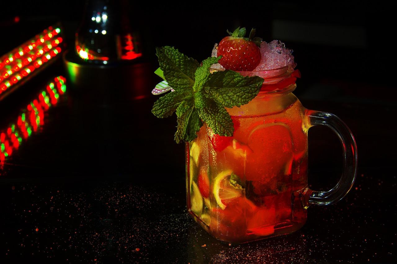Erdbeercaipirinha