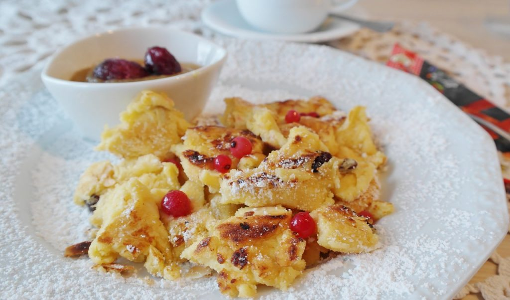 Kaiserschmarrn, Dessert