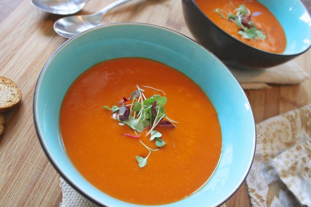 Tomatensuppe, Tomaten, Suppe, Rezepte