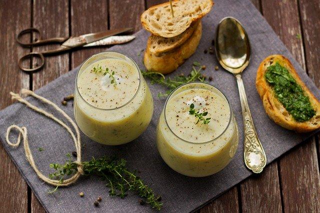 Feine Gemüsesuppe
