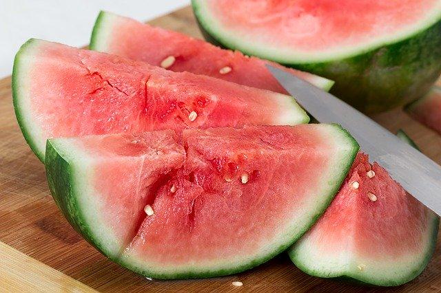 Melonensalat, Rezept, Wassermelone