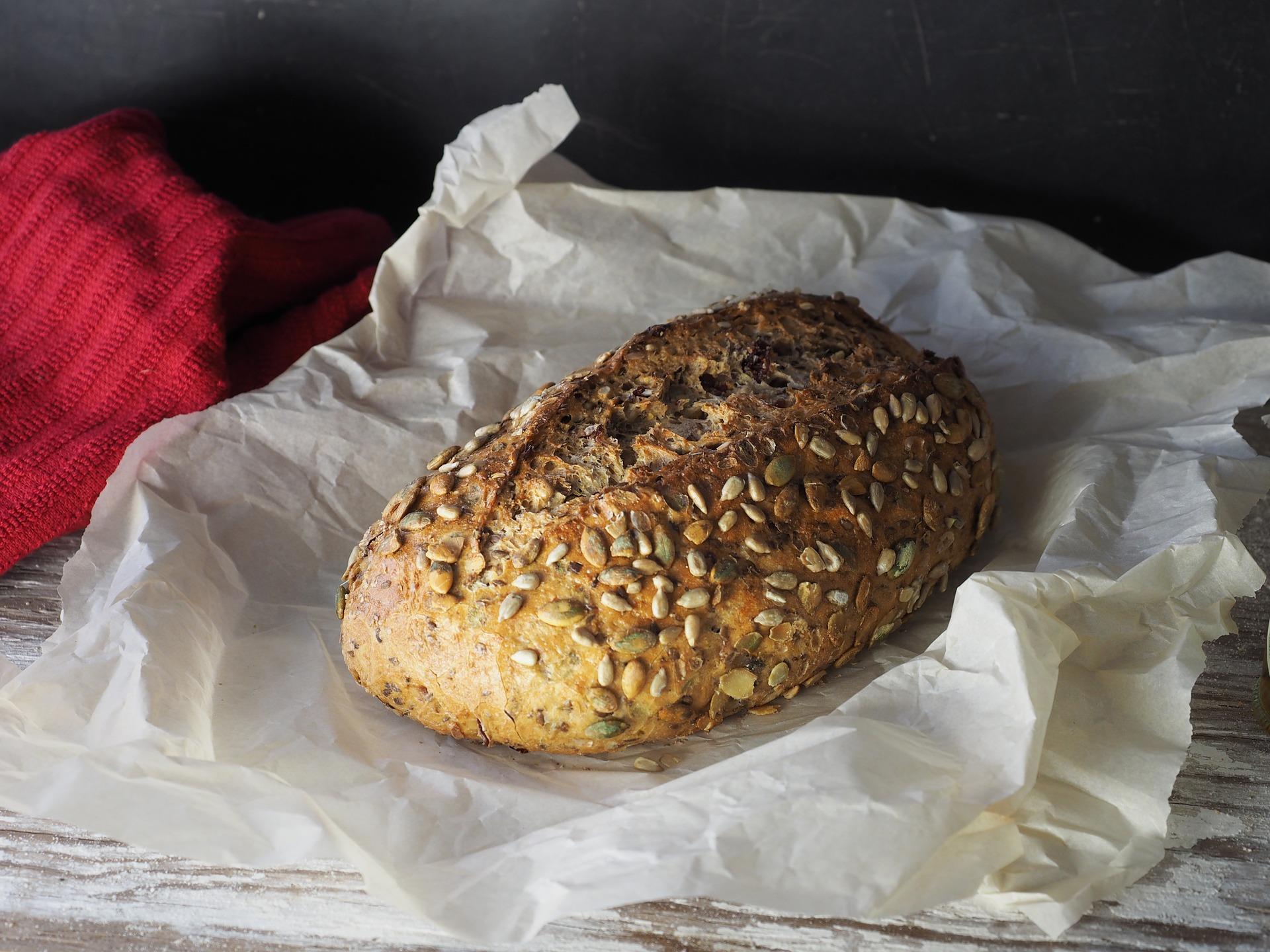 Sonnenblumen-Kürbiskern Brot